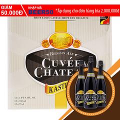 A Đây Rồi - Bia Cuvee du Chateau thung 12 chai x 750ml
