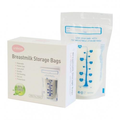 Túi trữ sữa Unimom 210ml (60 túi) UM870183