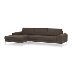 A Đây Rồi - Sofa goc Klosso G003 289 x 151 x 90 x 85 x 50 cm (Nau socola)