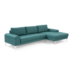 A Đây Rồi - Sofa goc Klosso G006 289 x 151 x 90 x 85 x 50 cm (Xanh ghi)