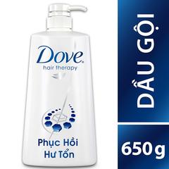 A Đây Rồi - Dau goi phuc hoi hu ton Dove Hair Therapy 650g