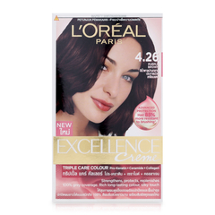 A Đây Rồi - Thuoc nhuom toc L'Oreal Excellence Cream #4.26 Purple Brown