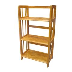 A Đây Rồi - Ke sach 3 tang 50 Nguyen Hanh Furniture NH-S350 50 x 28 x 90 cm (Vang)