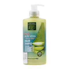 A Đây Rồi - Dau goi cho toc hu ton Green Grapy Fresh Aloe Vera Damage Care+ 500g