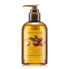 A Đây Rồi - Dau goi phuc hoi hu ton Nature Republic Argan Essential Deep Care Shampoo 300ml