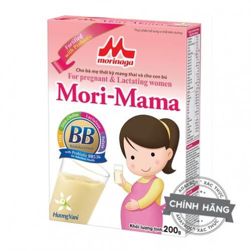 Sữa bà bầu Morinaga Mori Mama hương Vani 200g