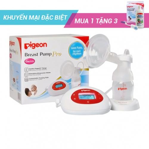 Máy hút sữa điện Pigeon Electric Breast Pump Pro (kèm quà tặng)