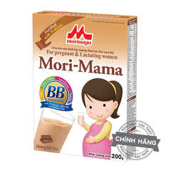A Đây Rồi - Sua ba bau Morinaga Mori Mama huong Chocolate 200g