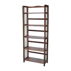 A Đây Rồi - Ke sach 5 tang Nguyen Hanh Furniture NH-S560 63 x 28 x 157 cm (Nau)