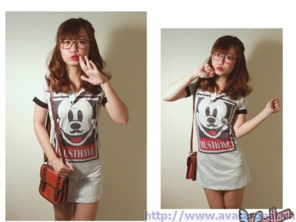 Đầm thể thao trụ Mickey MusThave
