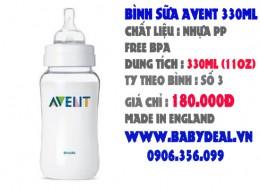 Bình Sữa Avent 330ml ( 11oz )