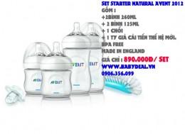 Set Starter Natural Avent