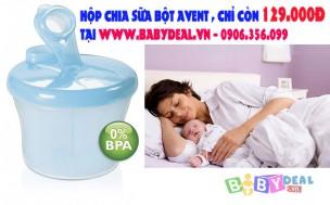 Baby Deal - Hop Chia Sua Avent