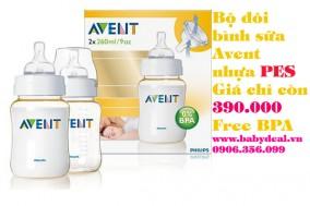 Baby Deal - Bo Doi Binh Sua Avent PES