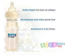 Bình Sữa BornFree Nhựa Pes