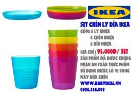 Set Chén Dĩa IKEA