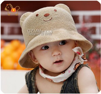 Nón phớt gấu cực xinh - Sản phẩm cho bé