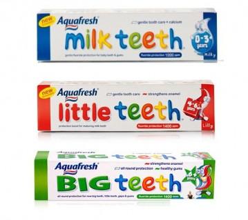 Bảo vệ và giúp răng nướu của bé chắc khỏe với Kem Đánh Răng Aquafresh Little Teeth dành cho tất cả các bé , Giá Khuyến Mãi Chỉ Có 55.000 VNĐ So với Gía Gốc 105.000 VNĐ