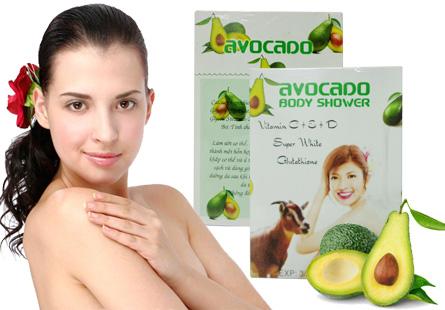 Tắm trắng Avocado Super White