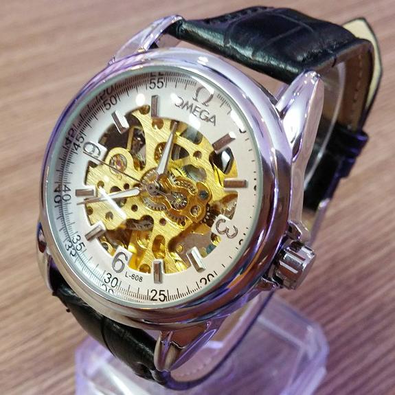 đồng hồ cơ không pin automatic omega a821 -dh82