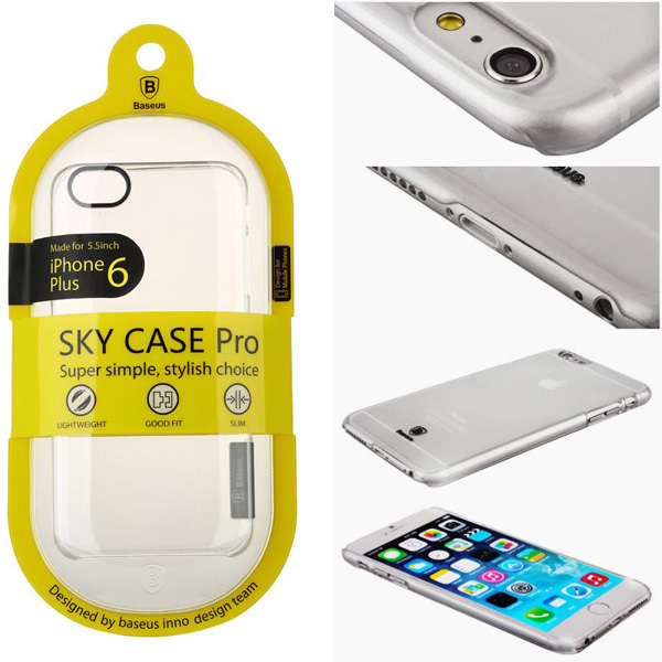 Ốp lưng cho Iphone 6/ 6 Plus Baseus Sky Case - PKDT242