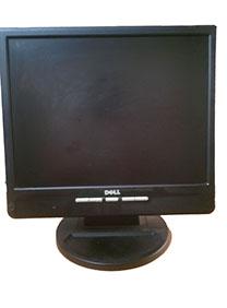 7Deal - Man Hinh Vi Tinh LCD DELL 15' Vuong Mau Den