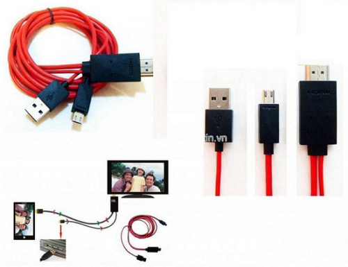 7Deal - Cap HDMI ket noi dien thoai va tivi