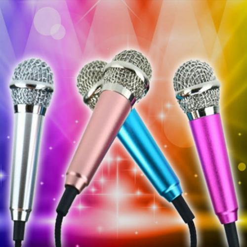 7Deal - Mic Karaoke mini tang tai nghe vua hat vua nghe tren dien thoai
