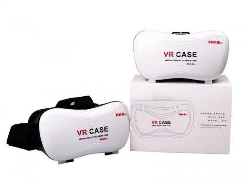 7Deal - Kinh thuc te ao VR Case V5 ( the he thu 3 ) + tay cam choi game + kinh chong loa