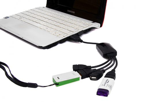7Deal - Bo chia USB 4 cong bach tuoc