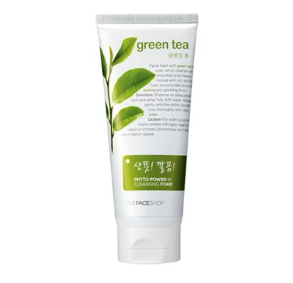 7Deal - Sua Rua Mat Tra Xanh Green Tea The Face Shop 170ml