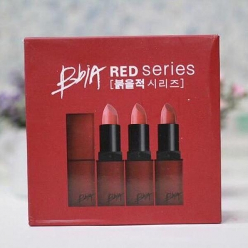 7Deal - Set 3 son li Bbia red series chinh hang - Bao check code