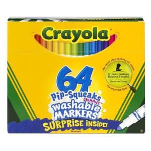 Bộ bút lông mini 64 màu Crayola 5887640005