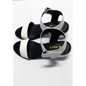Giày xăng đan nữ LARA HMF 30012 (Trắng)