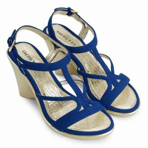 Giày cao gót Gosto GDW016200BLU (Xanh dương)