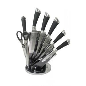 Bộ 8 món dao kéo làm bếp Bass BD08
