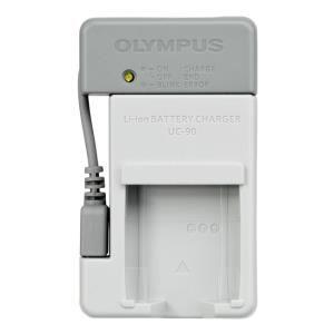 Sạc pin máy ảnh Olympus UC-90 Xám