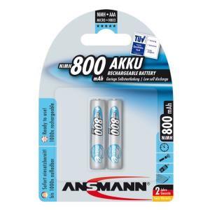 Bộ 2 Pin sạc AAA Ansmann 800mAh