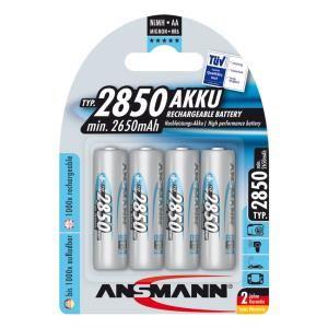 Bộ 4 pinsạc Ansmann AA 2850mAh