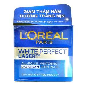 Kem dưỡng giảm thâm nám L'Oréal White Perfect Lase
