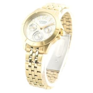 Đồng hồ nữ dây inox CITIZEN ED8102-56A (Vàng)