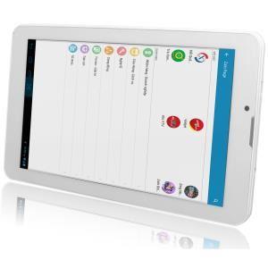 C Discount - Tablet cutePad M7022 8GB 3G Tráng va Bao da Den