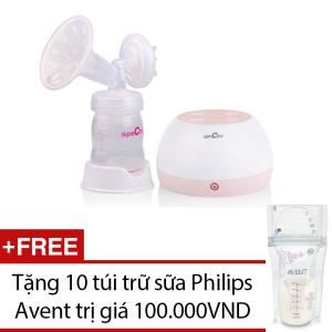 C Discount - May hut sua Spectra M2+10 tui tru sua PhilipsAVENT