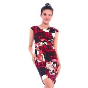 Đầm Kokonut KD00207 Đen đỏ