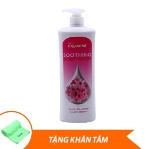 C Discount - Sua tam Follow Me Soothing Body Wash 1L + qua