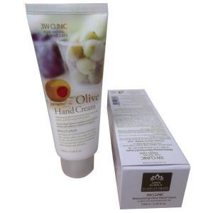 C Discount - Kem duong da tay olive 3W CLINIC Olive Cream 100ml