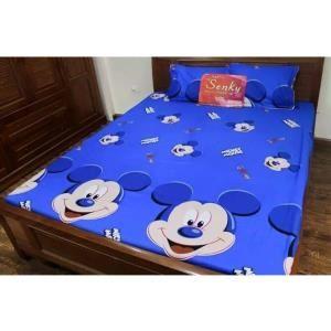 C Discount - Bo ga trai giuong TTSHOP Mickey sao xanh 1.6x2m