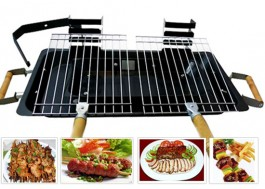 Cheap Deal - Bep than nuong All Steel Hibachi