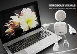 C195: BỘ CHIA CỔNG USB HÌNH ROBOT