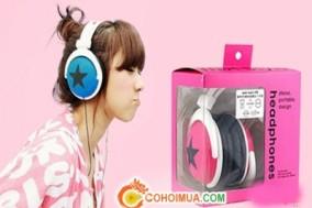 Cơ Hội Mua - Tai nghe kieu dang Han Quoc Mix - Style